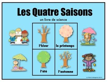 Les Quatre Saisons (un livre de science)