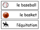 Les Sports Vocabulary Word Wall – Sports Vocabulary in French