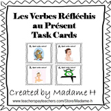 French Reflexive Verbs Present Tense Task Cards