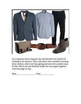 Les Vetements - Describe clothing