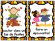 Les activités d'automne:  Mini Autumn (Fall) Activity Post