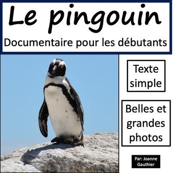 Les animaux: Le pingouin