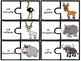 Les animaux de la savane - 28 puzzles (casse-tête) - Frenc
