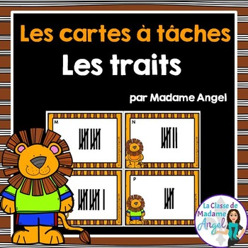 Les cartes à tâches:  French Task Cards - Tally Marks