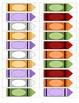 Les crayons / Crayon Counting