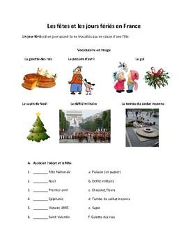 Les fêtes et les jours fériés en France (French holidays)