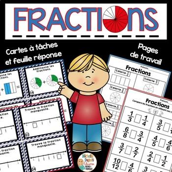 FRENCH fractions - Les fractions en français