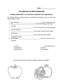 Les gâteries de Rosh Hashanah