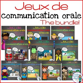 Les jeux de communication orale - French Oral Communicatio