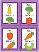 "Les légumes - Jeu ""j'ai qui a...?"" - French vegetables game"