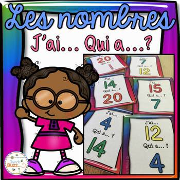 "Nombres 0-20 - jeu ""j'ai... qui a...?"" - French Numbers"
