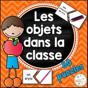Les objets dans la classe - puzzles