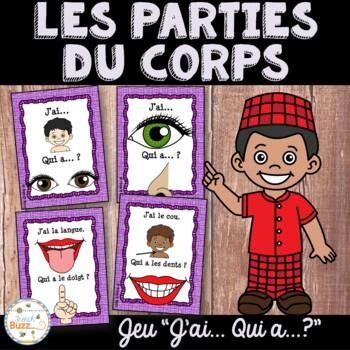 """Les parties du corps - French Body Parts - Jeu """"j'ai... qu"""