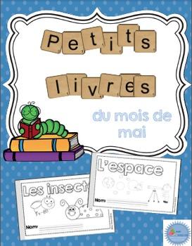 French Emergent reader May mini-books/Les petits livres du