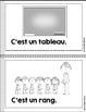 FRENCH Emergent reader September mini-books/Petits livres