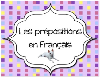 Les prepositions french immersion