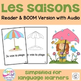 Les saisons French Seasons Emergent Reader Book {en frança
