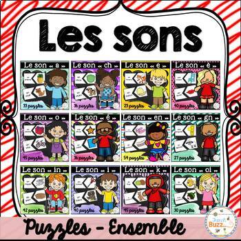 Les sons - Puzzles - Ensemble - Growing Bundle