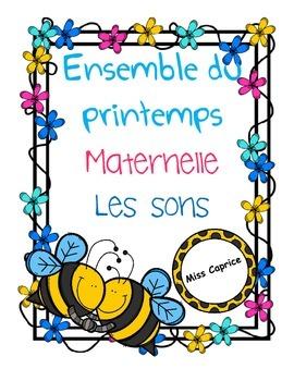 Les sons (complet) - Printemps - Maternelle
