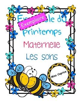 Les sons (exemplaire gratuit) - Maternelle - Miss Caprice
