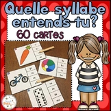 Les syllabes - quelle syllabe entends-tu?