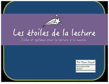 Les étoiles de la lecture: A French Immersion Home Reading