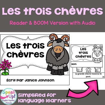 Les trois chèvres ~ Simplified French Three Billy Goats Gr