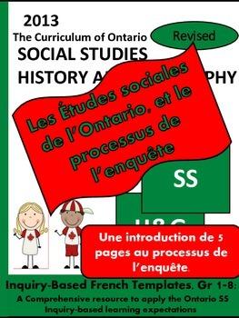 Les Études sociales de l'Ontario et le processus de l'enqu