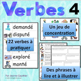Les verbes 4: Je pratique mon vocabulaire {French Vocabula