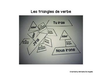 Les verbes - French verbs (Présent, Passé Composé, Imparfa