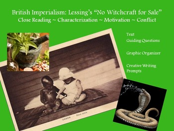 """Lessing's """"No Witchcraft"""" – Characterization, Motivation,"""