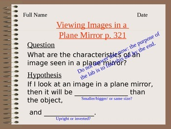 Lesson 07 Viewing Images in a plane Mira Answers