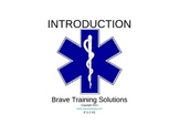EMT LESON ON INTRODUCTION TO EMERGENCY CARE