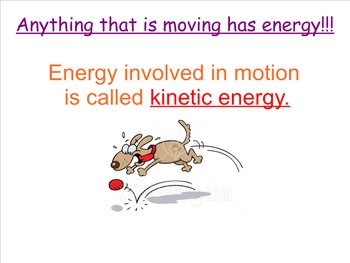 Lesson 1 Running on Energy-Energitic Connections