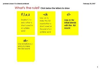 Lesson 13 s blends