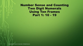 Lesson  2 Part 1 Number Sense and Counting Two Digit Numer