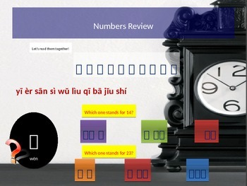 Chinese  Lesson 3 Supplement Date