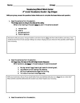 FSA and PARCC Test Prep - Lesson 4 - Big Bridges - Journey