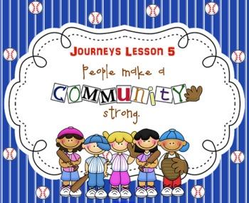 Lesson 5: Houghton Mifflin Journeys 3rd grade for SMART Board