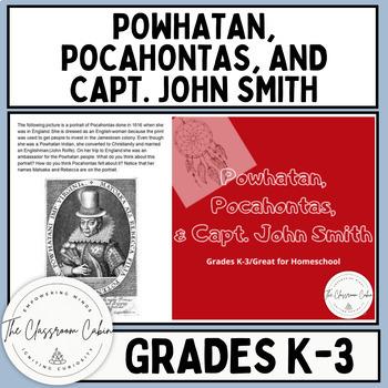 Lesson 5: Powhatan, Pocahontas, & John Smith (Early Americ