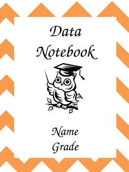 Lesson Plan - Data Notebook - Chevron Print Covers