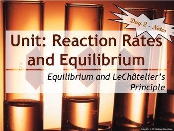 Lesson Plan: Equilibrium and Le Chatelier's Principle