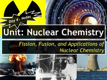 Lesson Plan: Fission, Fusion, and Applications of Nuclear