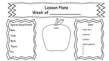 Lesson Plan Form