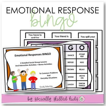 SOCIAL SKILLS ACTIVITIES: Emotional Responses {For k-5th G