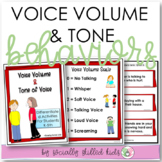 SOCIAL SKILLS ACTIVITIES: Voice Volume/Tone Of Voice {Diff