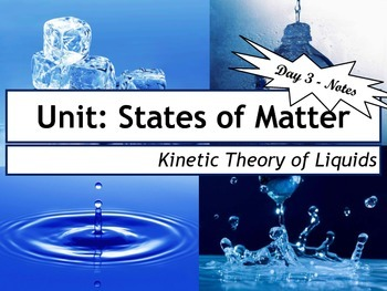 Lesson Plan: Kinetic Molecular Theory of Liquids (KMT)