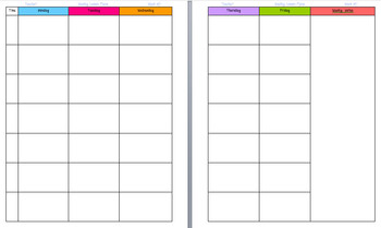 Lesson Plan Template for Binders - Free by Angie Amos | Teachers ...