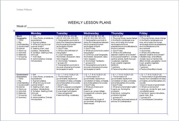 Lesson Plan Template for Dual-Prep with TEKS, Grouping, As
