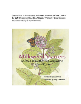 Lesson Plan using Milkweed Food Chain to Study Life Cycle-